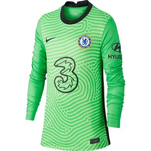 Nike Chelsea Home Goalkeeper Shirt 2020 2021 Junior
