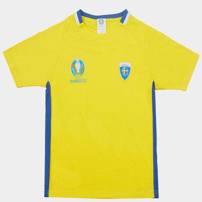 UEFA Euro 2020 Sweden Polyester T Shirt Junior