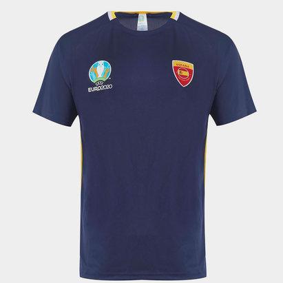 UEFA Euro 2020 Spain Poly T Shirt