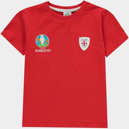 UEFA Euro 2020 England Core T Shirt Juniors