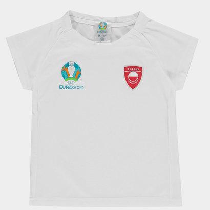UEFA Euro 2020 Poland Core T Shirt Junior Boys