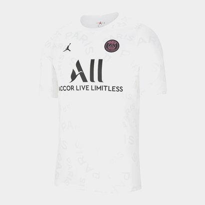 Nike Paris Saint Germain x Jordan Pre Match Shirt Mens