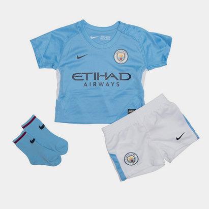 Nike Manchester City 17/18 Bébés - Kit de Foot Domicile