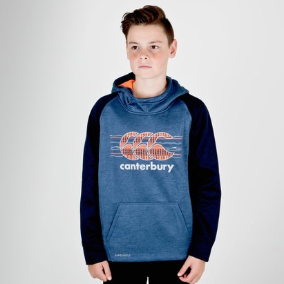 Canterbury Vaposhield - Pull de Rugby Polaire à Capuche Enfants