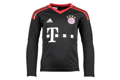 adidas Bayern Munich 17/18 Adolescents - Maillot de Foot Gardien de But Domicile M/L