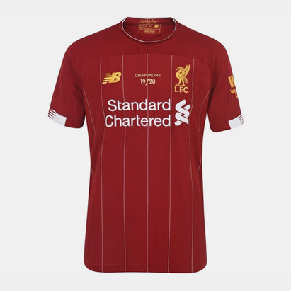 New Balance Liverpool Home Champions Front Print Shirt