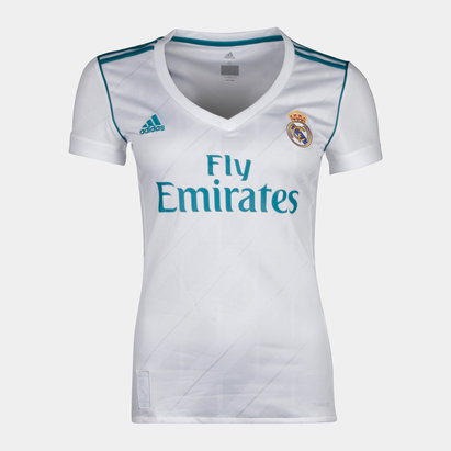 adidas Real Madrid 17/18 Femmes - Maillot de Foot Réplique Domicile