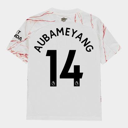 adidas Arsenal Pierre Emerick Aubameyang Away Shirt 20/21 Kids