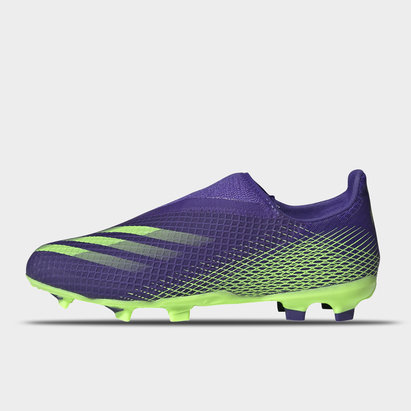 adidas X .3 Laceless Childrens FG Football Boots