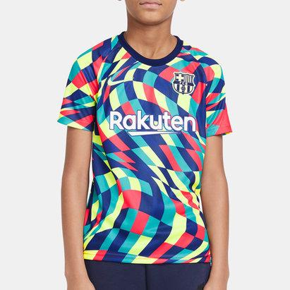 Nike Barcelona Pre Match Shirt 20/21 Kids