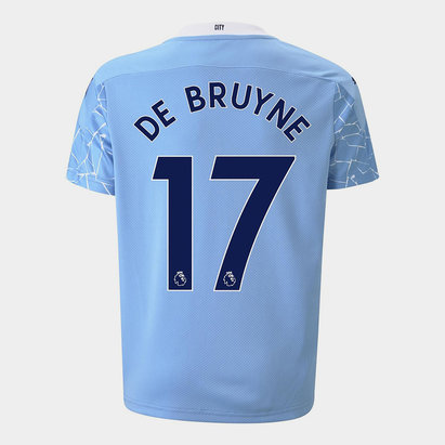 Puma Manchester City Kevin de Bruyne Home Shirt 20/21 Kids