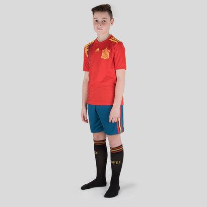adidas Espagne 2018 Enfants - Maillot de Rugby Réplique Domicile