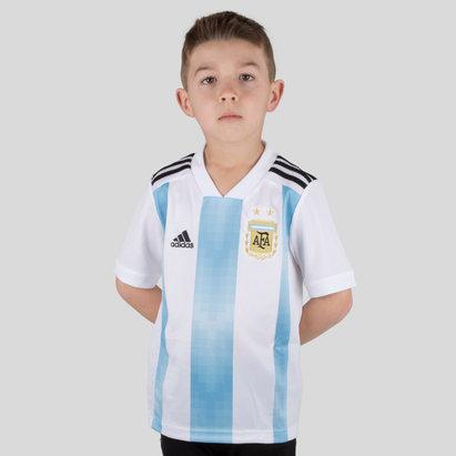 adidas Argentine 2018 - Maillot de Foot Domicile Enfants