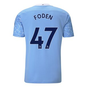 Puma Manchester City Phil Foden Home Shirt 20/21
