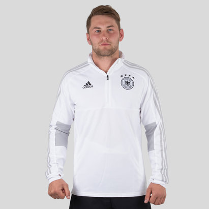 adidas Allemagne 2018 - Veste Entraînement de Foot 1/4 Zip