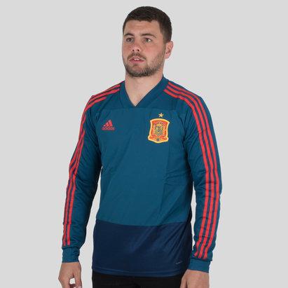 adidas Espagne 2018 - Haut Entraînement de Foot M/L