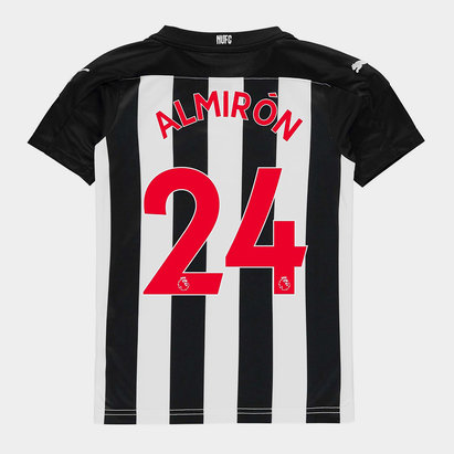 Puma Newcastle United Almiron Home Shirt 20/21 Kids