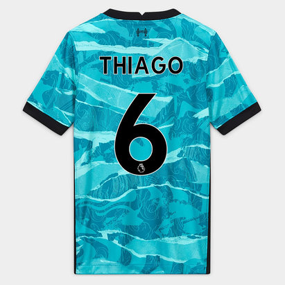 Nike Liverpool Thiago Alcantara Away Shirt 20/21 Junior