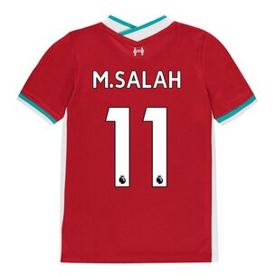 Nike Liverpool Home Mohamed Salah Home Shirt 20/21 Kids