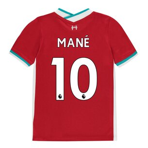 Nike Liverpool Home Sadio Mane Home Shirt 20/21 Kids