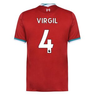 Nike Liverpool Home Virgil van Dijk Home Shirt 2020 2021