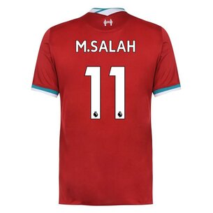 Nike Liverpool Mohamed Salah Home Shirt 2020 2021
