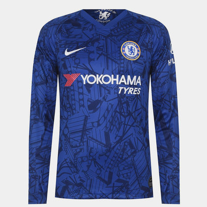 Nike Chelsea FC Long Sleeve Home Jersey Mens