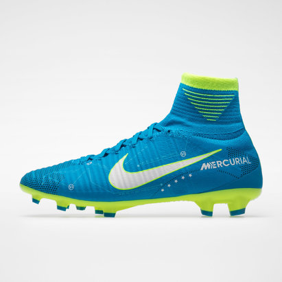 Nike Mercurial Superfly V D-Fit Neymar FG - Crampons de Foot Enfants