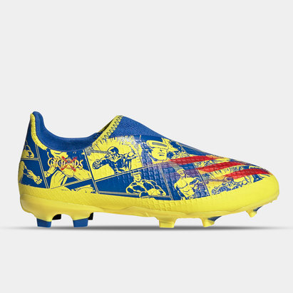 adidas Marvel X Ghosted .3 Laceless Junior FG Football Boots