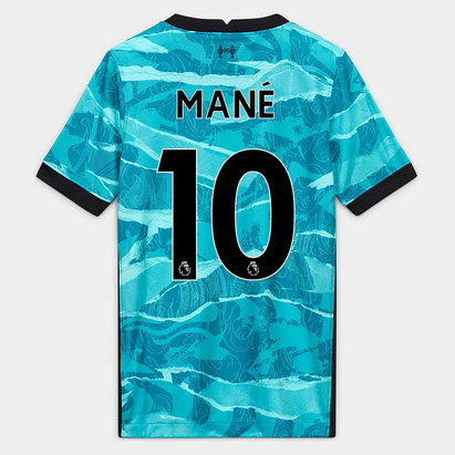 Nike Liverpool Sadio Mane Away Shirt 20/21 Kids
