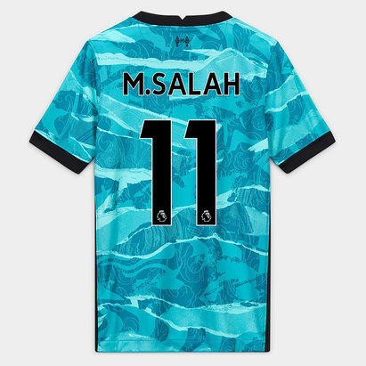 Nike Liverpool Mohamed Salah Away Shirt 20/21 Kids