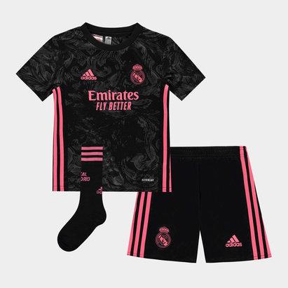 adidas Real Madrid Third Mini Kit 20/21