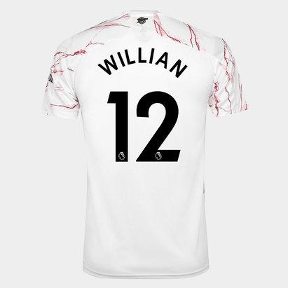 adidas Arsenal Willian Away Shirt 20/21