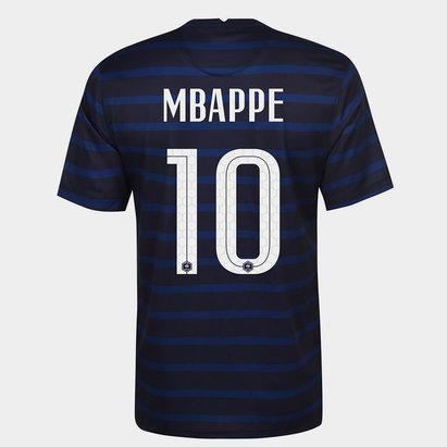 Nike France Kylian Mbappe Home Shirt 2020 Junior