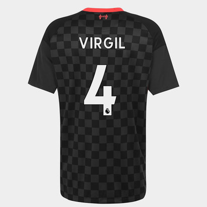 Nike Liverpool Virgil van Dijk Third Shirt 2020 2021