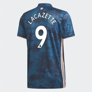 adidas Arsenal Alexandre Lacazette Third Shirt 2020 2021 Junior