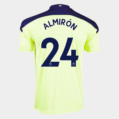 Puma Newcastle United Miguel Almiron Away Shirt 20/21 Mens