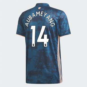 adidas Arsenal Pierre Emerick Aubameyang Third Shirt 2020 2021 Junior