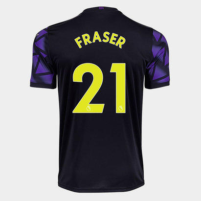 Puma Newcastle United Ryan Fraser Third Shirt 20/21 Kids