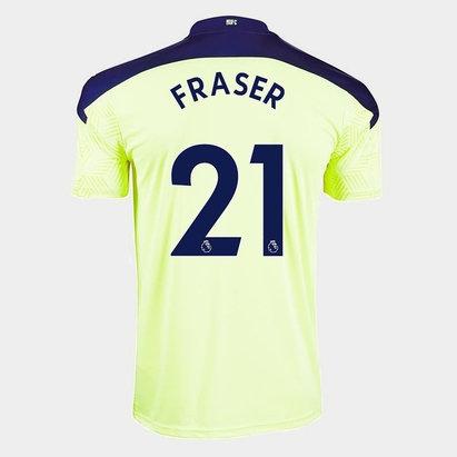 Puma Newcastle United Ryan Fraser Away Shirt 20/21 Kids