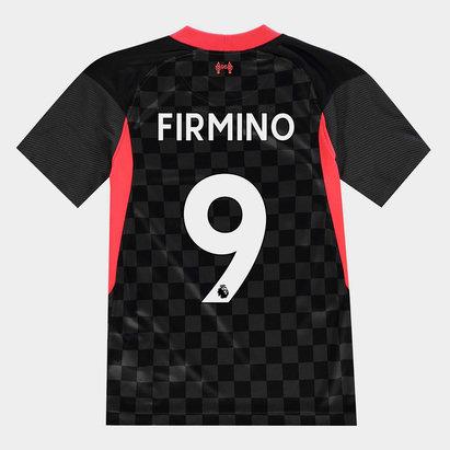 Nike Liverpool Roberto Firmino Third Shirt 20/21 Kids