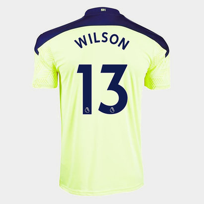 Puma Newcastle United Callum Wilson Away Shirt 20/21 Kids