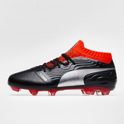Puma One 18.1 Cuir FG - Crampons de FootEnfants