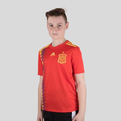 adidas Espagne 2018 - Maillot de Foot Réplique Domicile Enfants