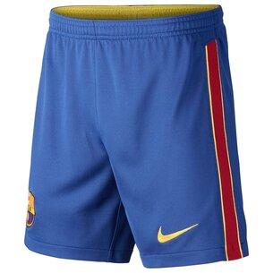 Nike Barcelona Home Shorts 2020 2021 Junior