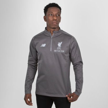 New Balance Liverpool FC 18/19 - Veste de Foot Entraînement Elite 1/4 Zip
