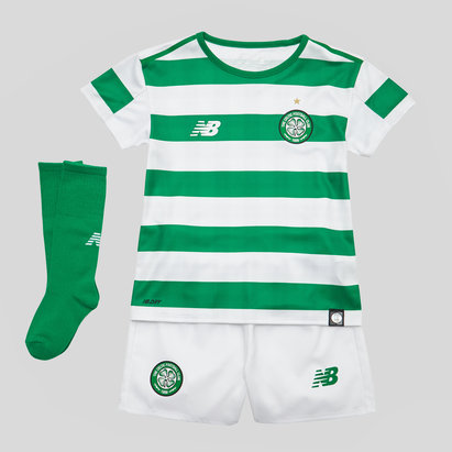 New Balance Celtic FC 18/19 - Kit de Foot Domicile Enfants