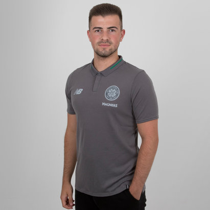 New Balance Celtic FC 18/19 - Polo de Foot Loisirs Elite
