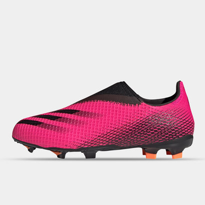 adidas X Ghosted .3 Laceless Junior FG Football Boots