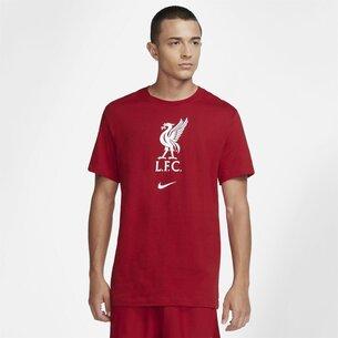 Nike Liverpool Crest T Shirt 2021 2022 Mens